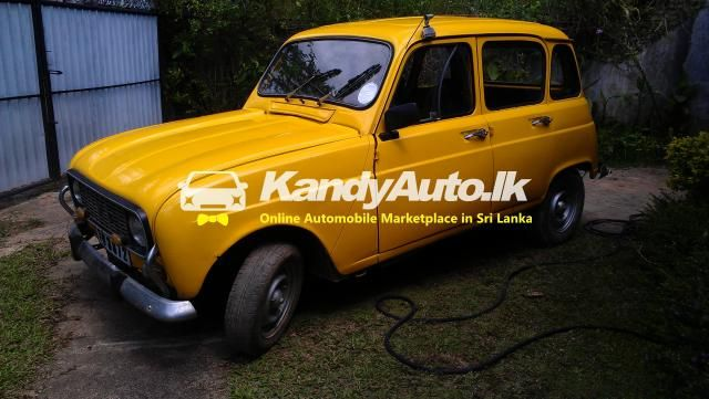 Renault 4l 1978 For Sale With Images Renault 4l Renault Cars