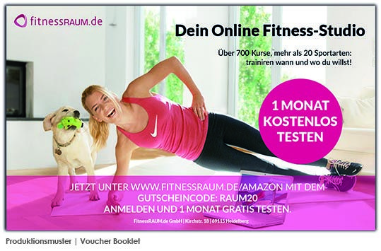 Produktion Deutschland Voucher Fitness, Sports, Voucher