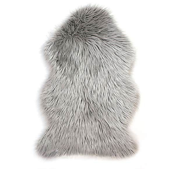 Faux Sheepskin Rug Fur