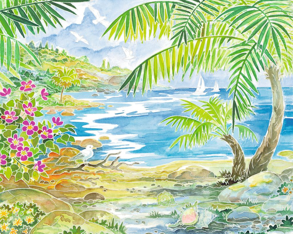 Aquarelle Beach Paradise Image 4 Click To Zoom