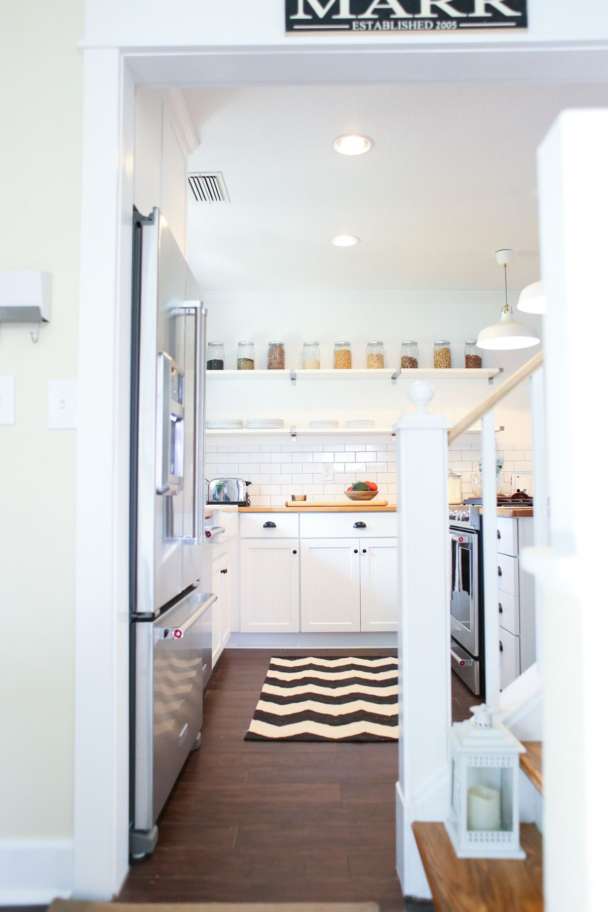 The Live Simply Kitchen Remodel: Final Reveal | Pantry room ...