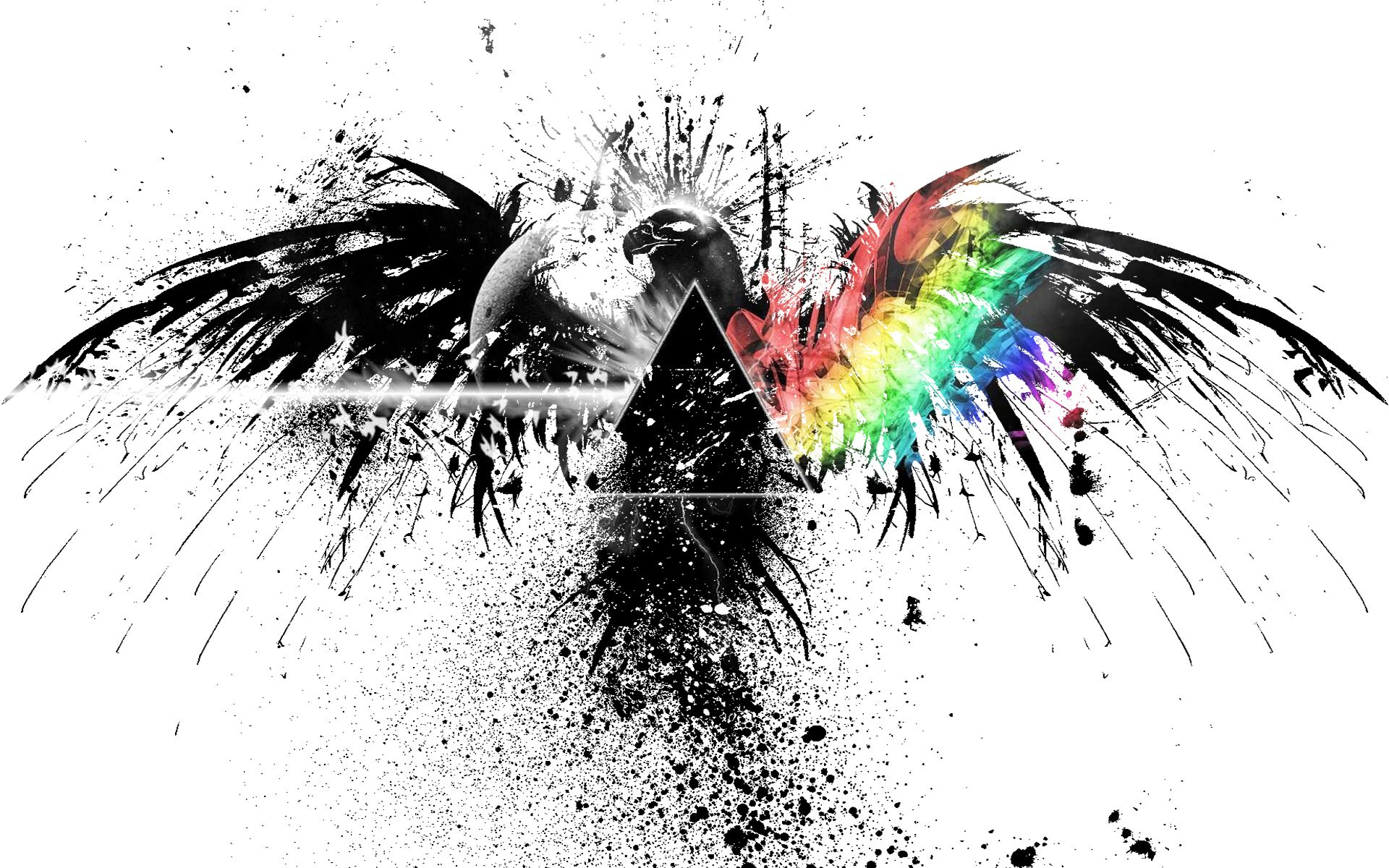 Music Pink Floyd Eagles Flags 1920x1200 Wallpaper Pink