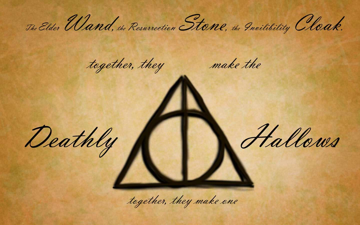 Harry potter symbols google search harry potter inspiration deathly hallows sign wallpaper by melissa on deviantart deathly hallows wallpapers wallpapers biocorpaavc Choice Image