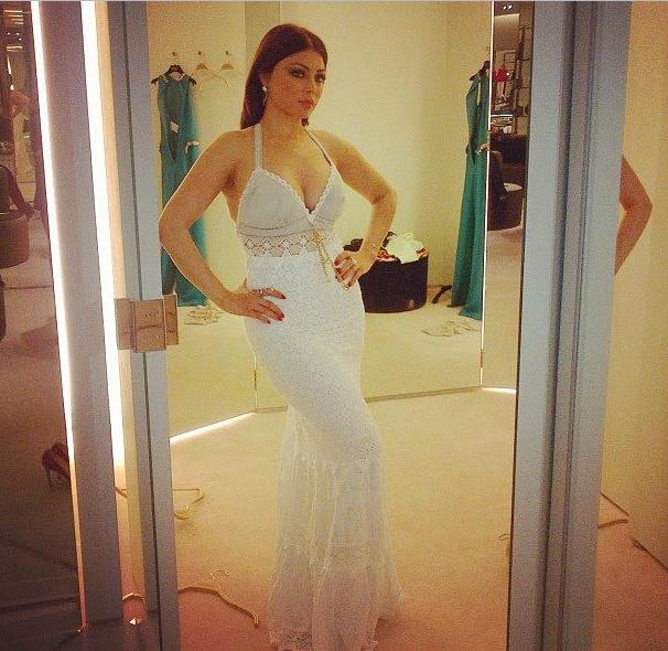 Les belles robes de haifa wahbi