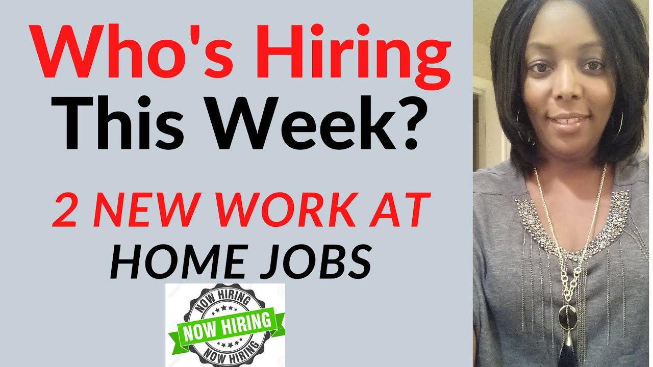 Earn 18 Hourly 2 New Work At Home Jobs Hiring Now Work From Home Jobs Hiring Now Jobs Hiring