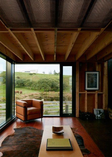 Enough House Weathering Steel Cabin In Nova Scotia By Brian Mackay