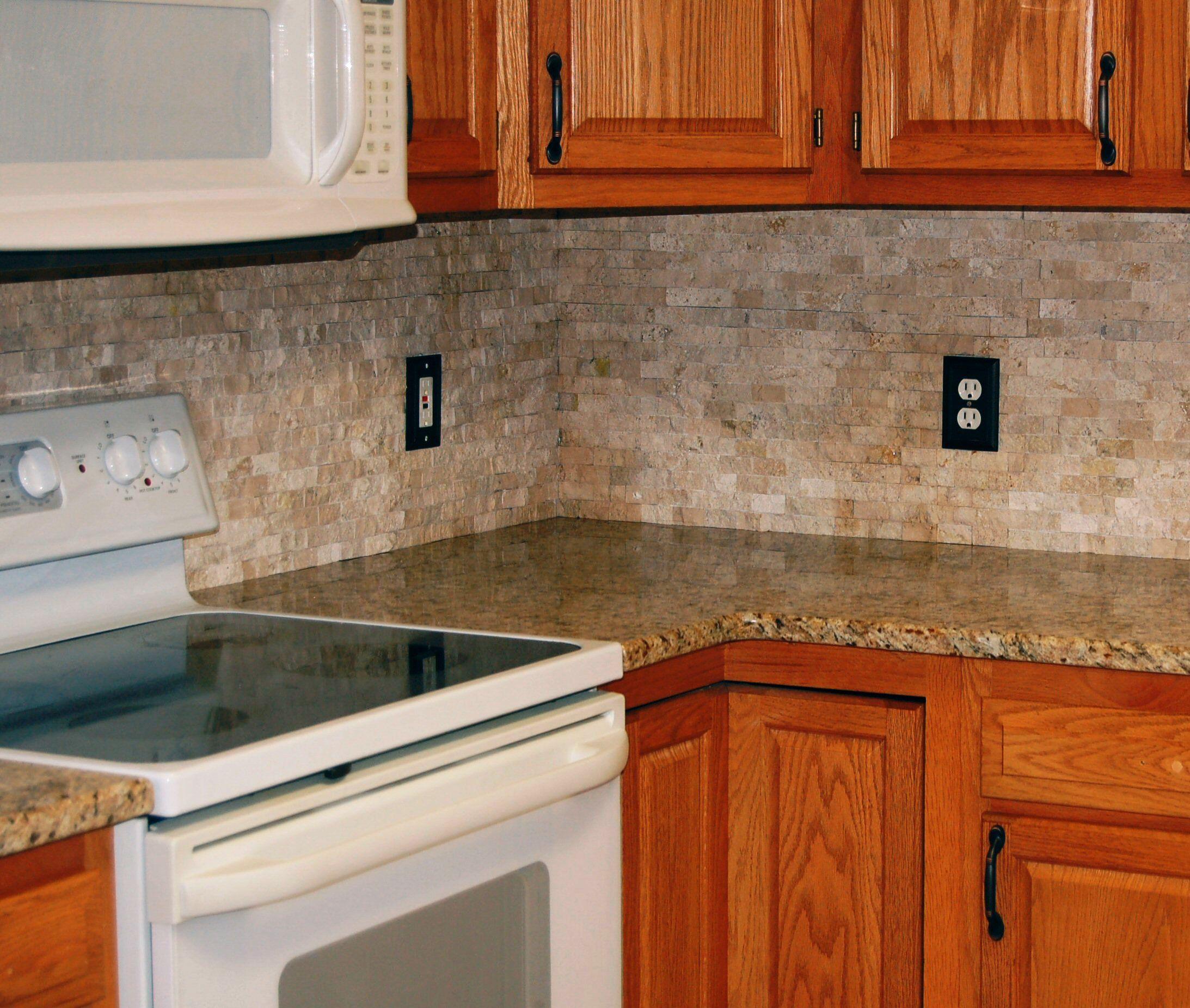 Kitchen Stone Backsplash: STONE-Backsplash Designs For Your Kitchen And Bathroom