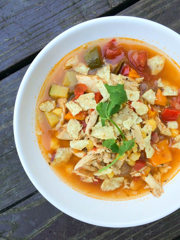 Tortilla Soup The Lemon Bowl Soo Spicy Hold Back On The Adobe