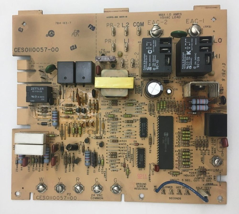 Carrier Bryant Furnace Circuit Board CES used