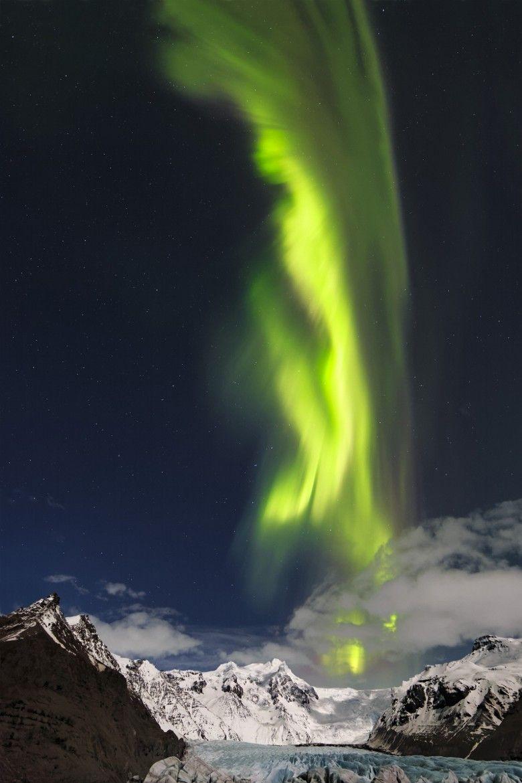 Svinafellsjökull by Maurice Lepetit