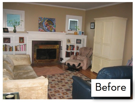 Dining/Living Room Makeover