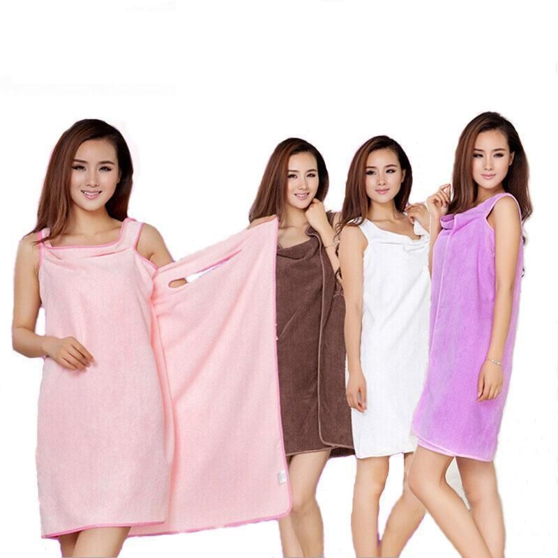 21e930f91b Creative Beach Towel Magic Bath Towels For Women Colorful Microfiber Towel  Skirt