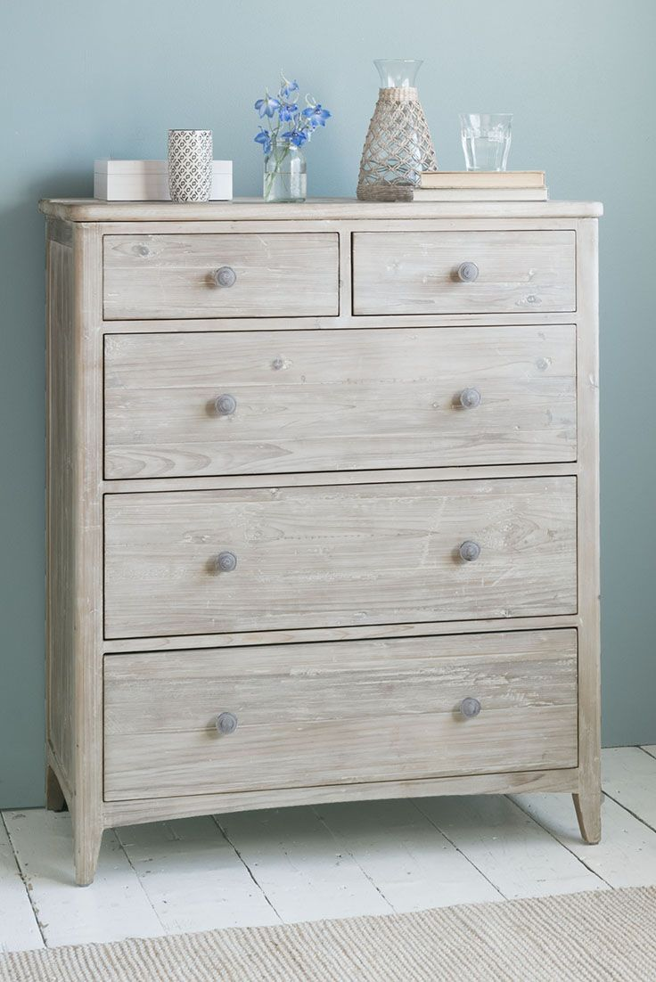 Driftwood pinterest grey chests white dining chairs and grey bed