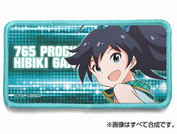 AmiAmi [Character & Hobby Shop] | THE IDOLM@STER - Full Color Velcro Patch: Hibiki Ganaha(Pre-order)