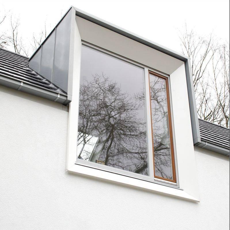 Einfamilienhaus Mit Fertigteilgarage Und Geräteschuppen In: Einfamilienhaus Mit Klarer Formgebung Und Details Sowie