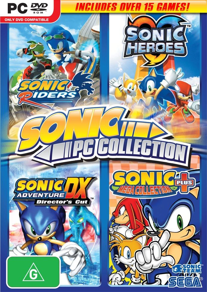 Sega sonic collection for pc Sonic heroes, Free games, Games