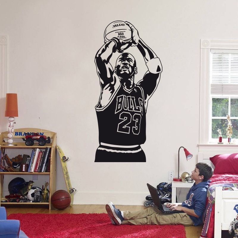 New Arrival on our Store: Michael Jordan Ba... Check it out here! http://your-hot-deal.myshopify.com/products/michael-jordan-basketball-wall-sticker?utm_campaign=social_autopilot&utm_source=pin&utm_medium=pin