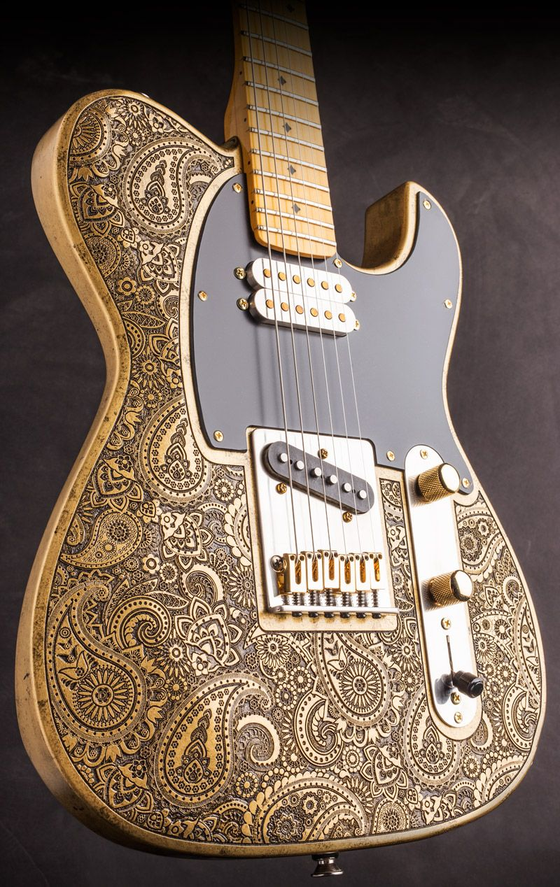 NEW Gold Paisley Engraved Dellatera - Available Now!