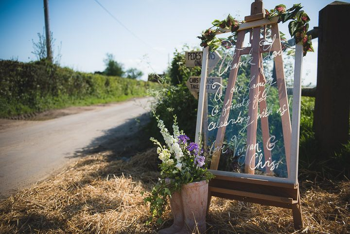 Chris and Veryan's Flower Filled Tipi Wedding By Life in Focus Photography