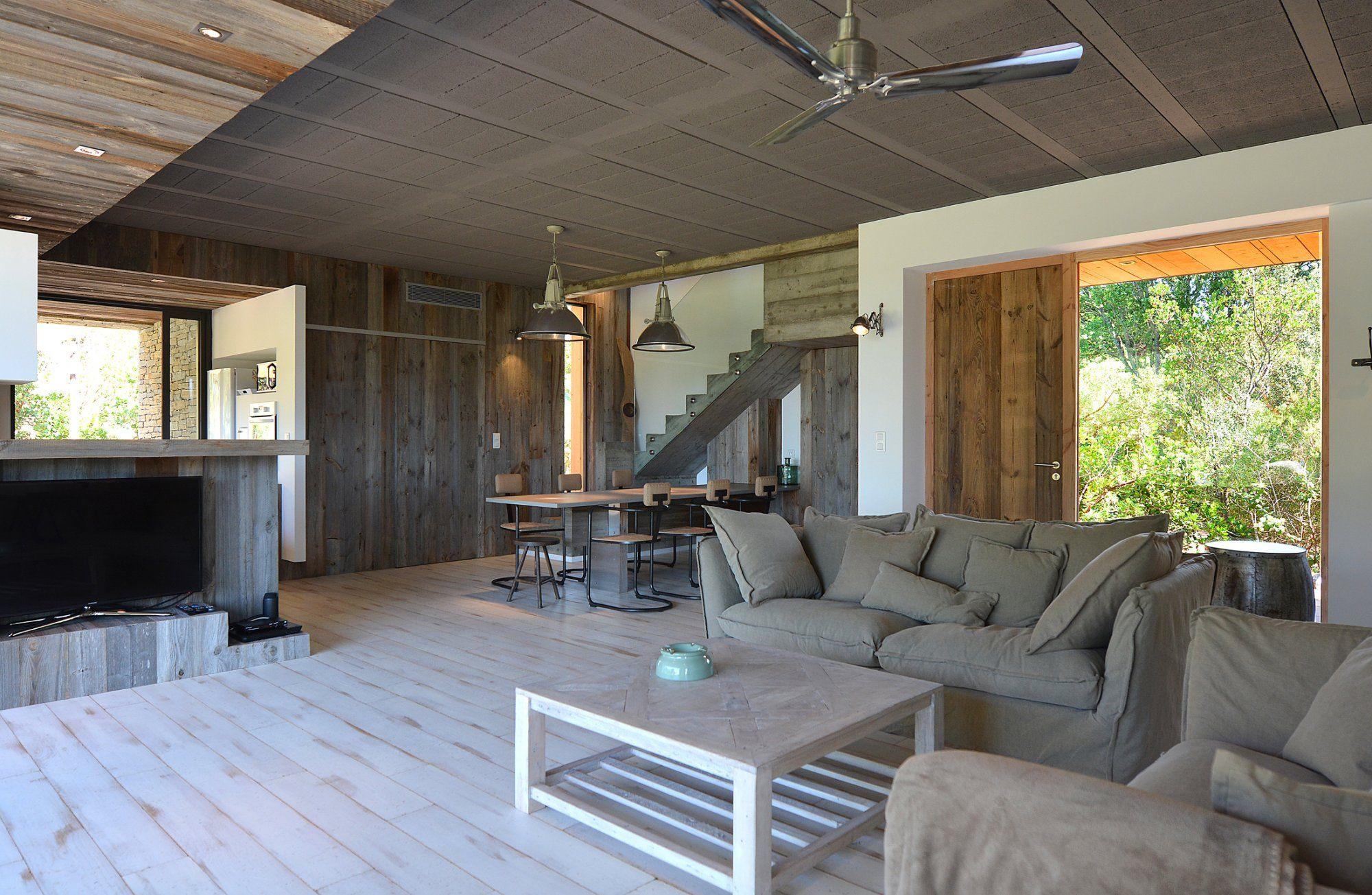 Pi ces vivre de luxe une pi ce vivre avec une d co - Deco piece a vivre avec cuisine ouverte ...