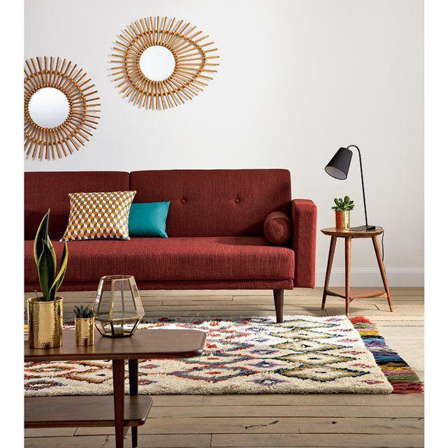 Image Tapis style berbère, OURIKA La Redoute Interieurs Sofa Couch - couleur chaude pour une chambre