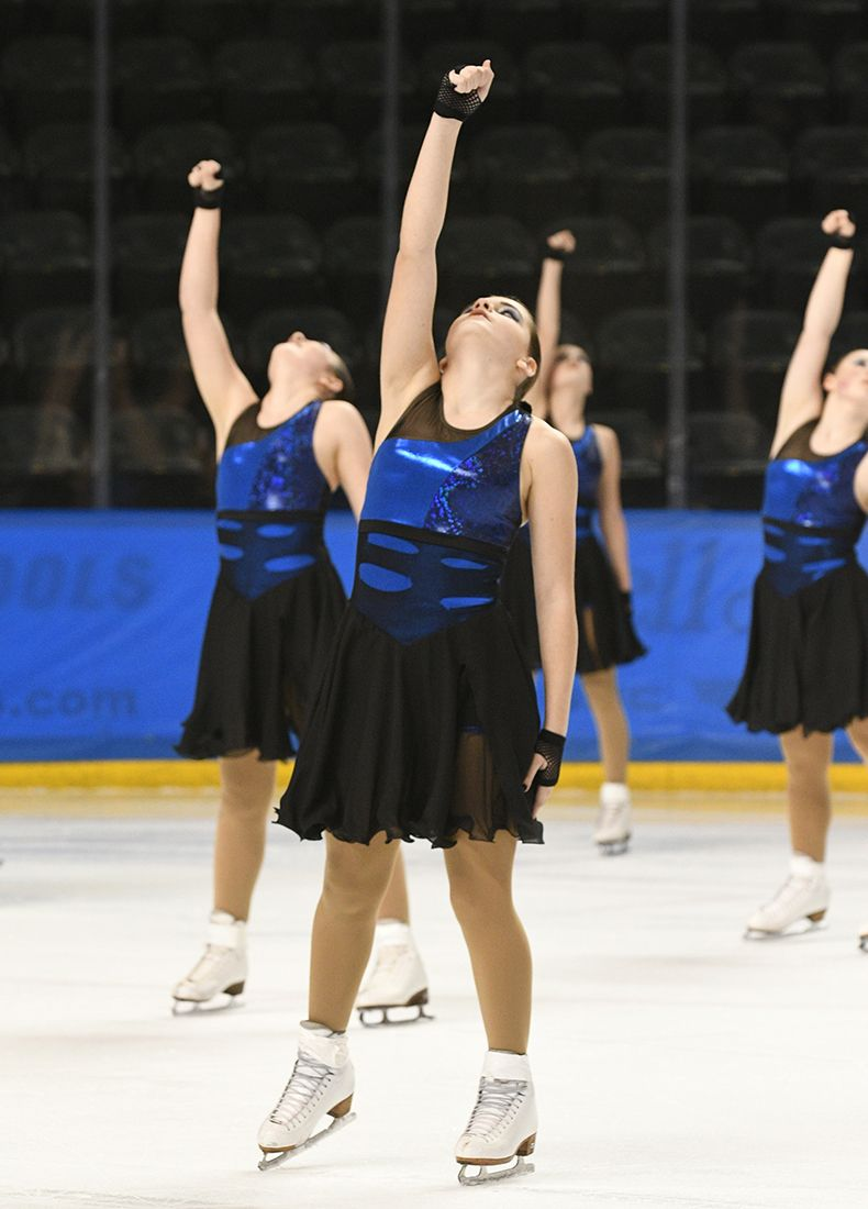 Competition Recap: 2017 Midwest & Pacific Coast Synchronized Skating Championships - Northern Fusion-Intermediate-Free Skate