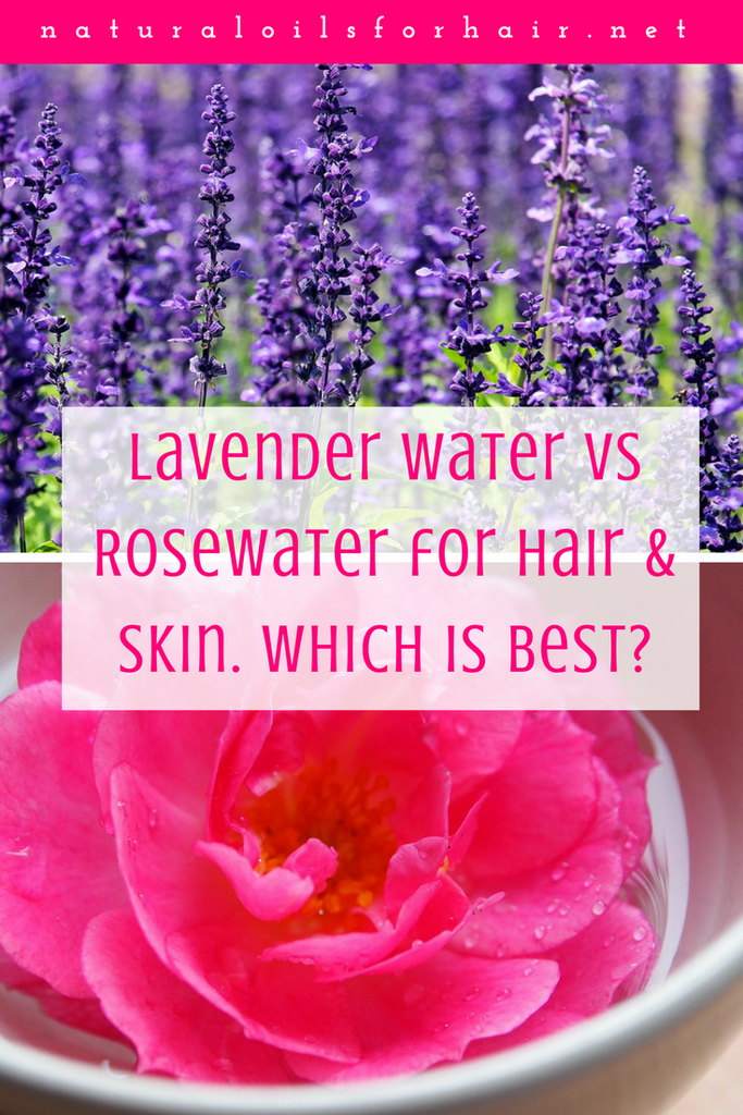 Lavender Water Vs Rosewater For Hair And Skin Lavender Water Lavender Oil For Hair Rose Water