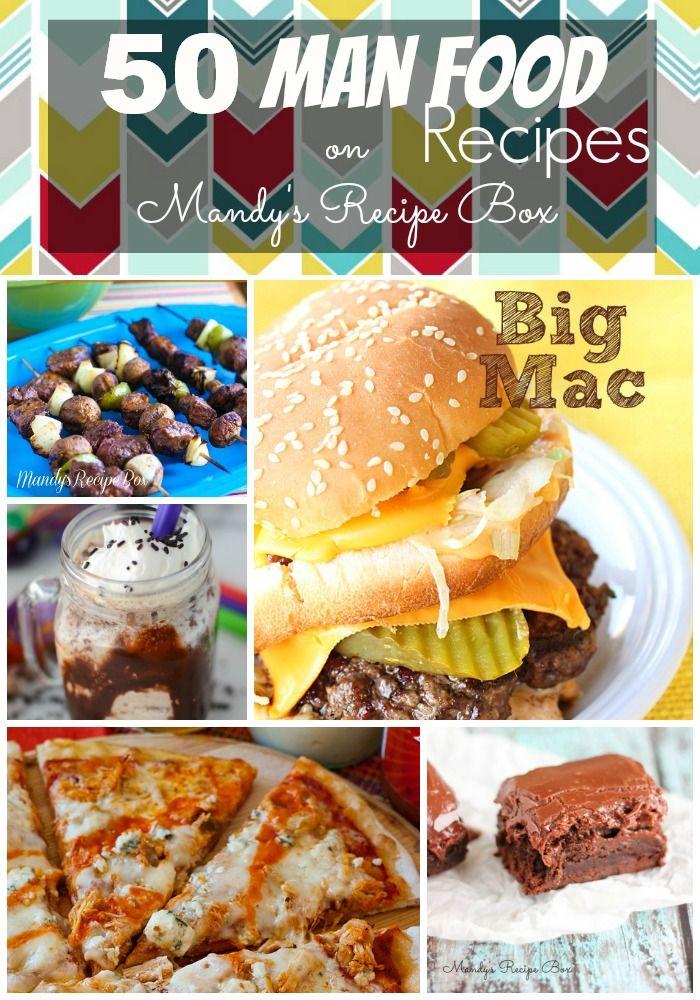 50 man food recipes recipe box recipes and food 50 man food recipes mandys recipe box forumfinder Choice Image