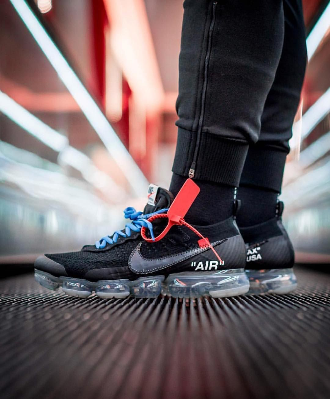 a6dcacbce4 OFF WHITE x Nike Air Vapormax Flyknit | Kicks in 2019 | Fake shoes ...