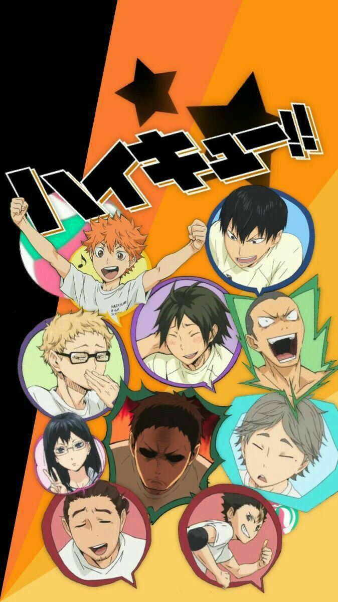 Реакции Волейбол!! ( Haikyuu )