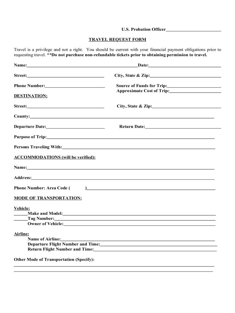 Travel Request Form 2 Free Templates In Pdf Word Excel Throughout Travel Request Form Template Word Best Sam Templates Template Free Resume Template Word