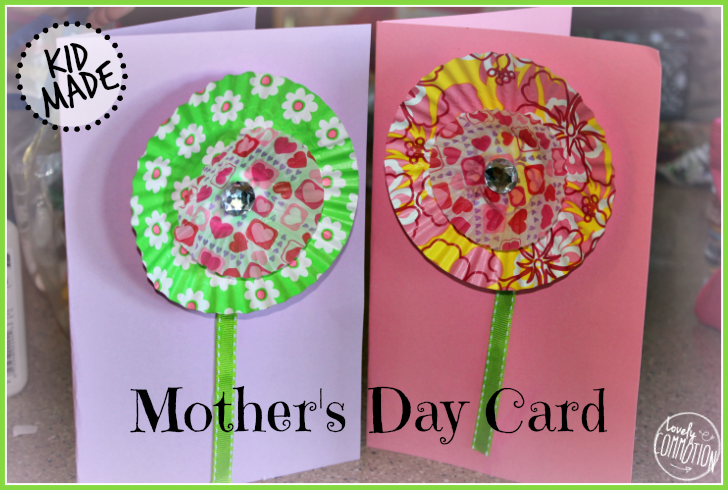 Preschool flower crafts and activities mom 39 s library 92 for Mothers day cards from preschoolers