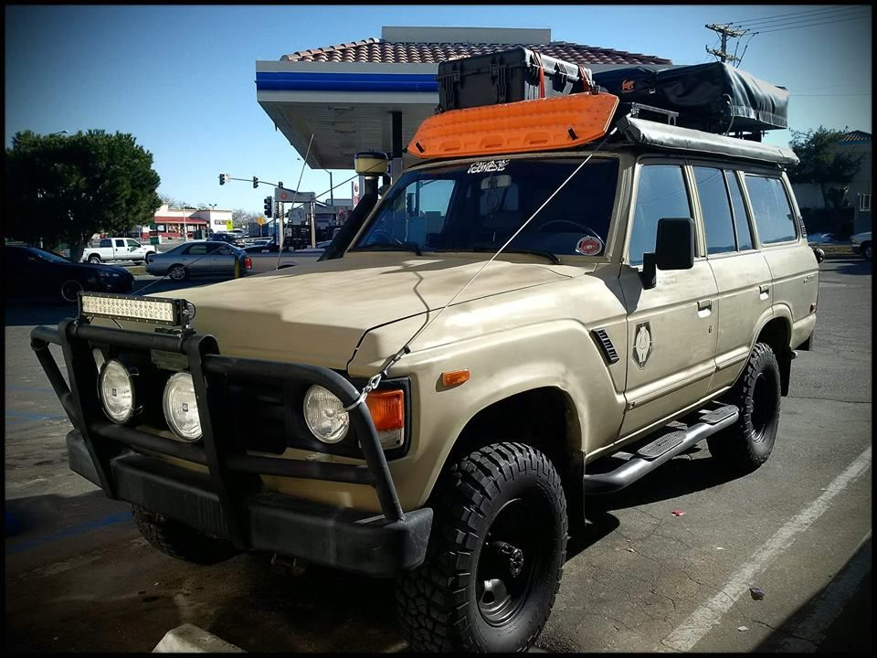 Here Is An Interesting Idea For Roof Mounted Tent Top