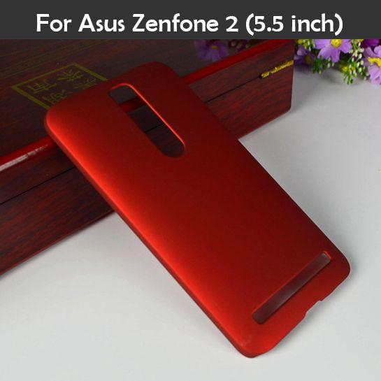 다채로운 오일 코팅 고무 매트 하드 case 대한 asus zenfone2 ze550ml z00ad ze551ml zenfone 2 5.5 '슬림 프로스트 플라스틱 커버 xjq