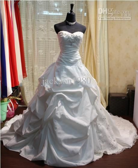 Wedding Dresses Sweetheart Neckline Princess Bling
