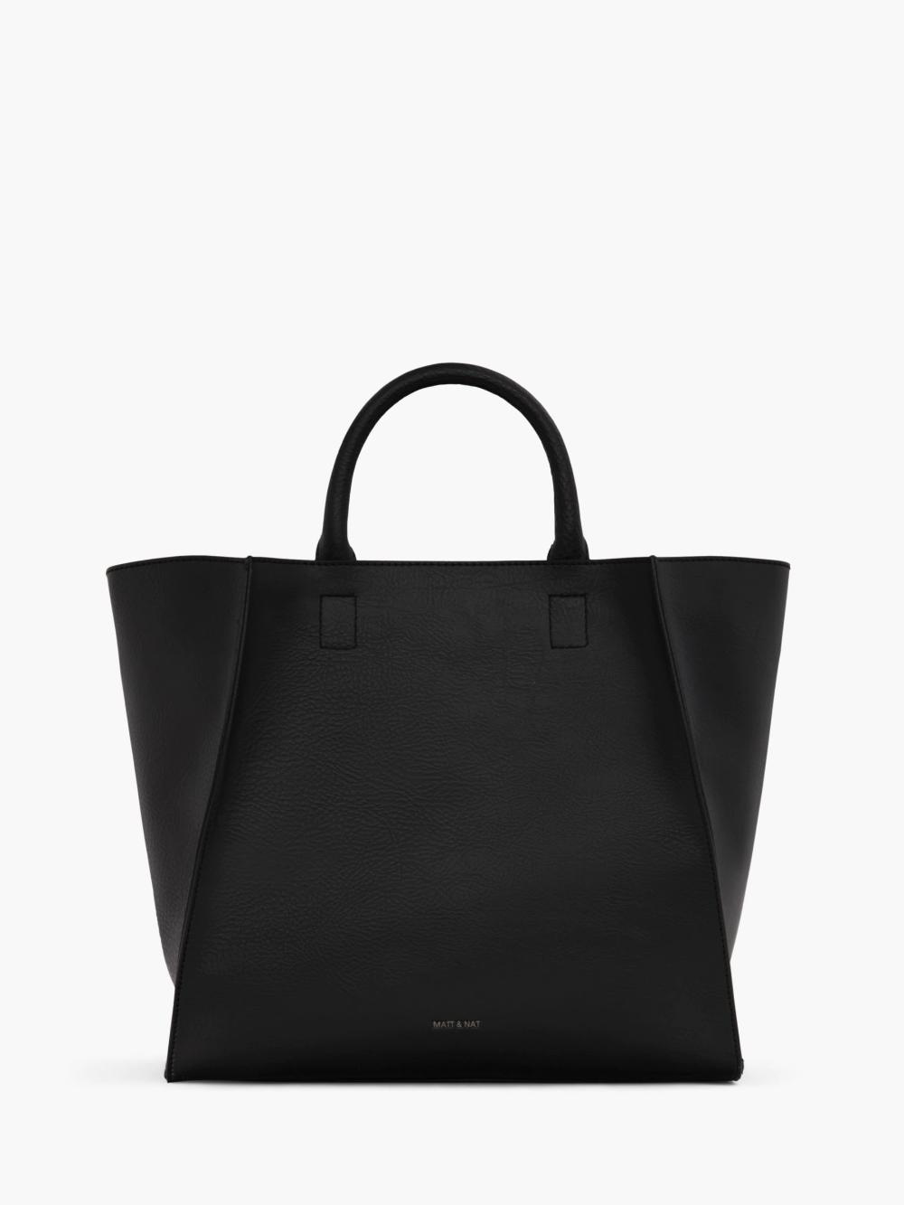 Matt & Nat Dwell Collection Loyal Vegan Tote Bag, Black at John Lewis & Partners