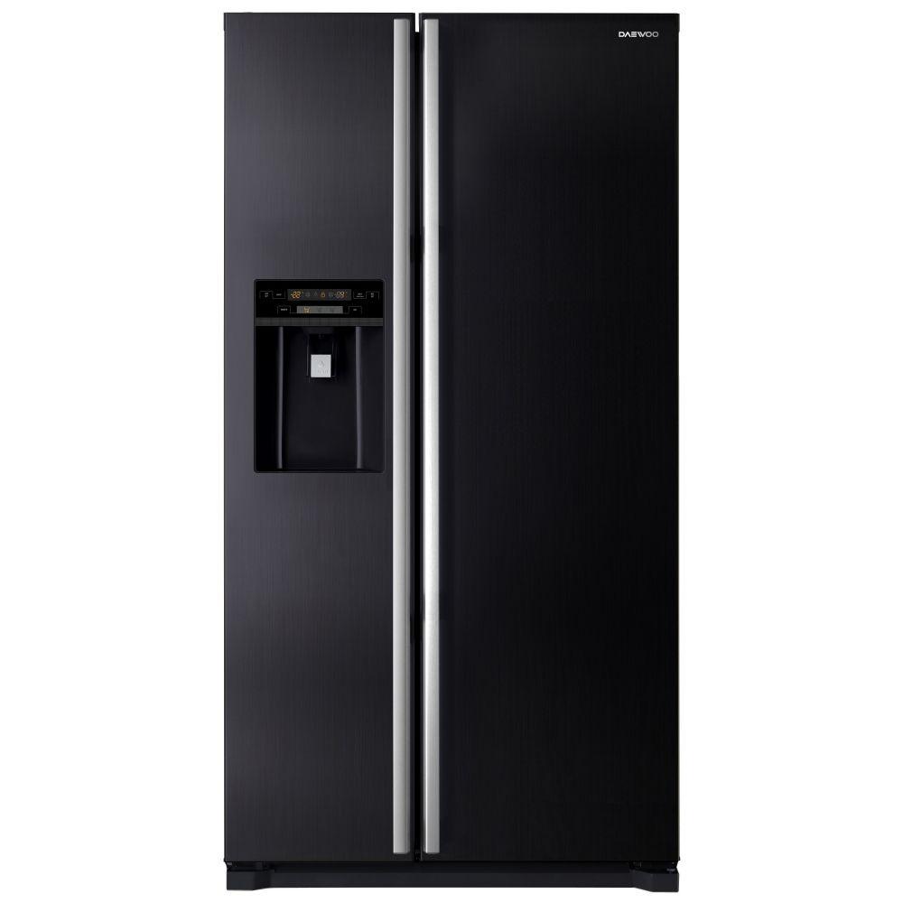 Daewoo FRAX22NP3B - American Fridge Freezer Ice & Water No Plumbing
