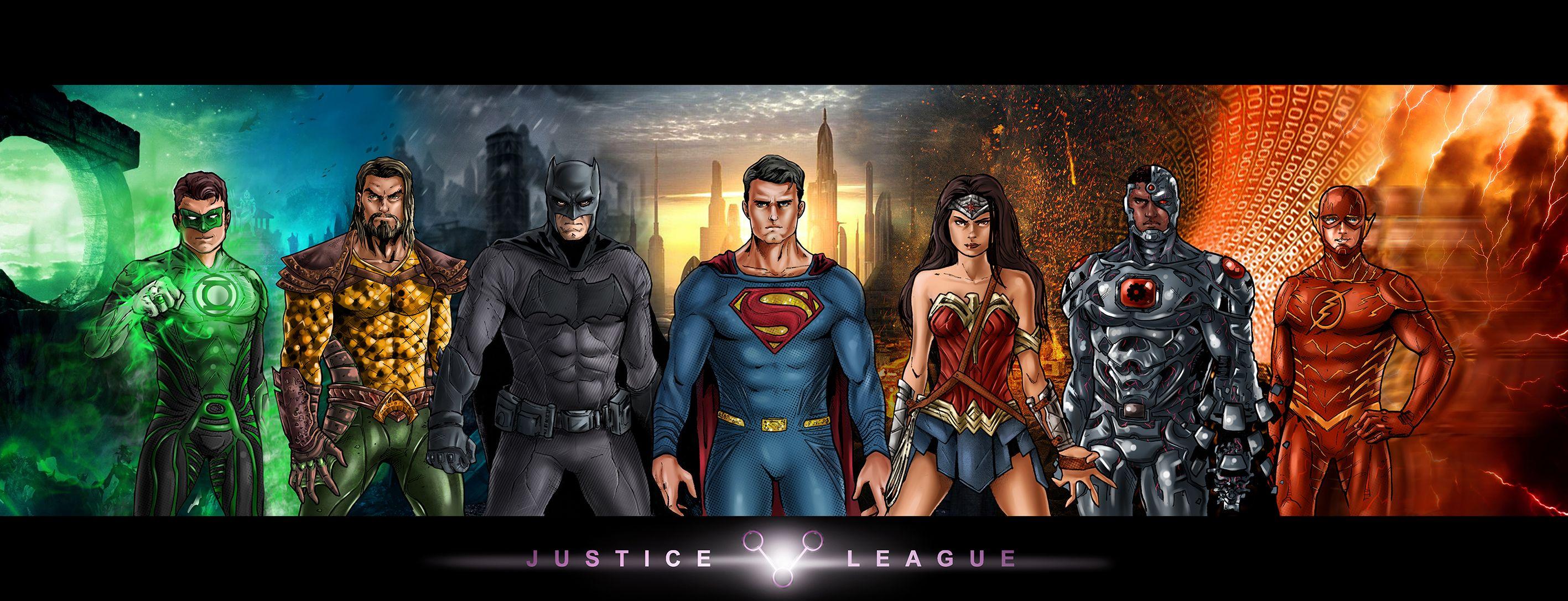 JUSTICE LEAGUE by Nezotholem.deviantart.com on @DeviantArt