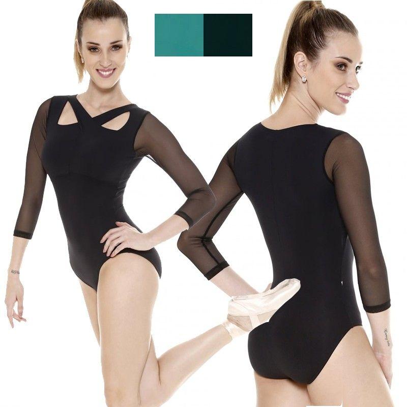 SoDanca Langarm Ballett Trikot | trikot | Pinterest | Ballett trikot ...