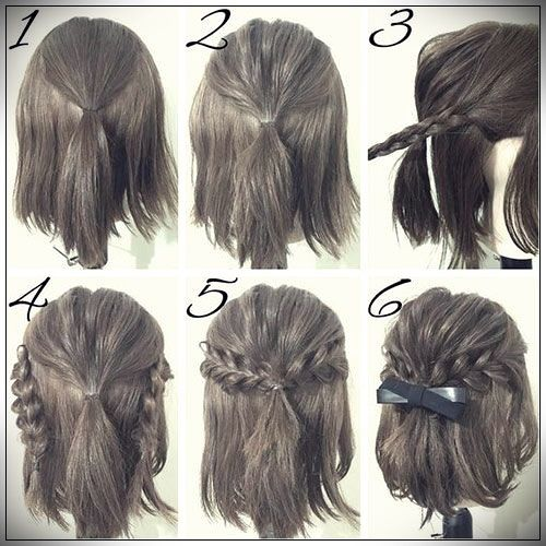 Easy Hairstyles 2019 step by step | Simple prom hair, Girl ...