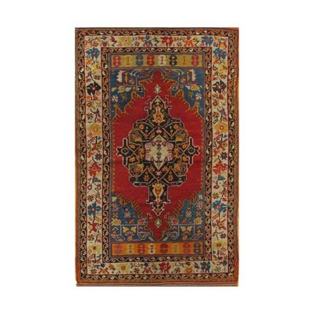 """I pinned this Turkish 6'6"""" x 4' Rug from the Apadana event at Joss and Main!"""