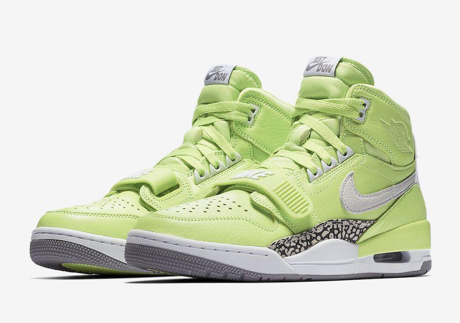 "5d575c2ba4a8 Jordan Legacy 312 ""Ghost Green"" Official Photos"