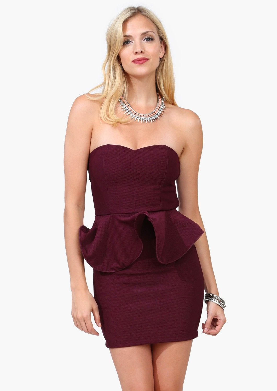 Cute Peplum Dress