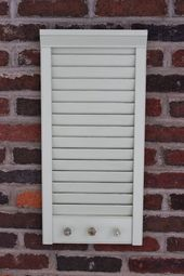Photo of #Holder #Key #Mail #Repurposed #Shutter #shutters repurposed Alumi