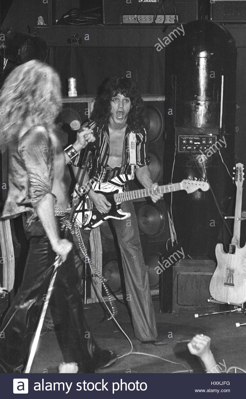 Download This Stock Image Extremely Rare Photos Of Van Halen In Their Club Days Photographed Live At The World Famo Van Halen Eddie Van Halen David Lee Roth