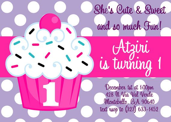 Cupcake birthday invitation cupcake first birthday invitations cupcake birthday invitation cupcake first birthday invitations printable or printed on etsy 1500 filmwisefo Gallery