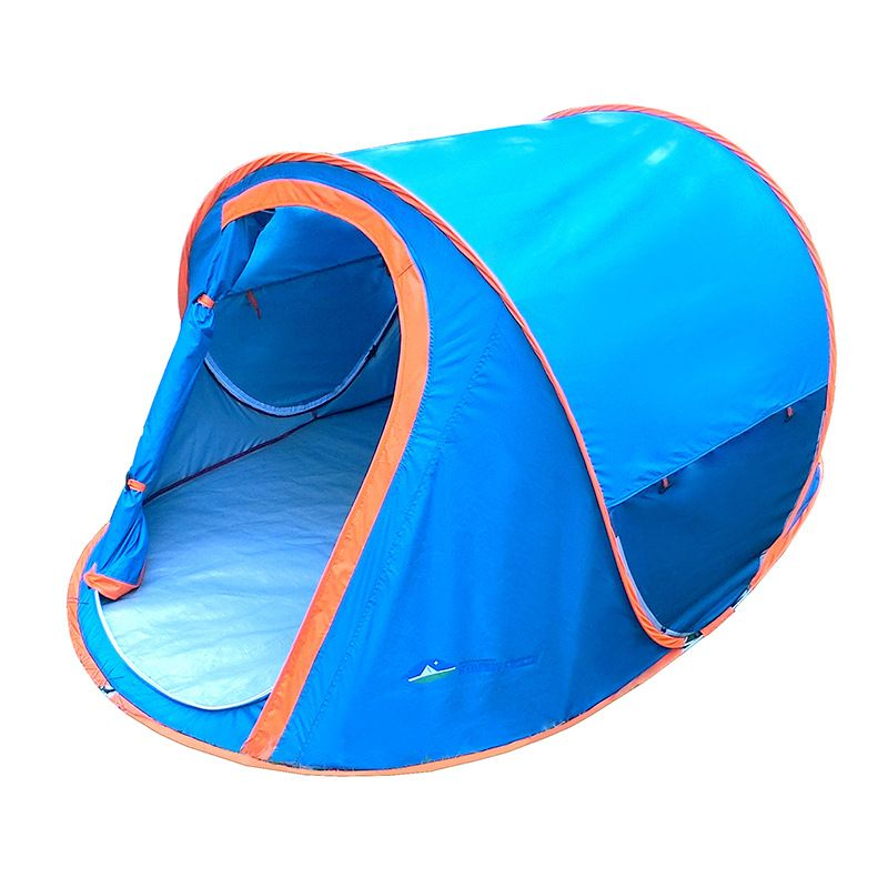 Single C&ing Tent 2 Person Rainproof UV-Anti Ultralight Pop Up Beach Tent Quick Automatic Opening Waterproof C&ing Tents  sc 1 st  Pinterest & Free Shipping] Buy Best Single Camping Tent 2 Person Rainproof UV ...