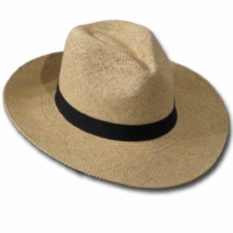 Amazon.com  FEDORA PACKABLE FOLDABLE Panama Straw Hat CLASSIC  Clothing 720fd54b969