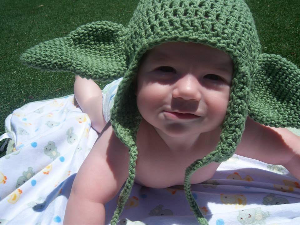 Free yoda ear pattern | Crochet | Pinterest | Tejido