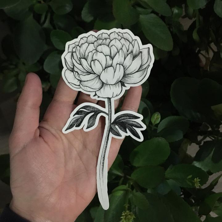 Nature inspired temporary tattoos original art by austin
